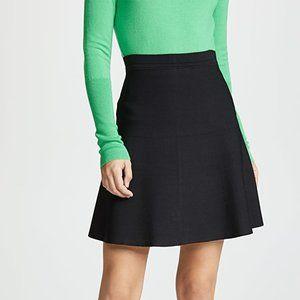 ✨ BNWT Short Black Flare Skirt | Theory
